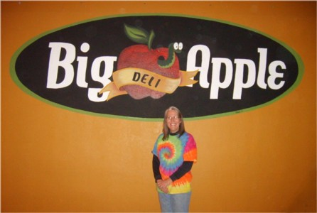 Big Apple Deli Sign Finished