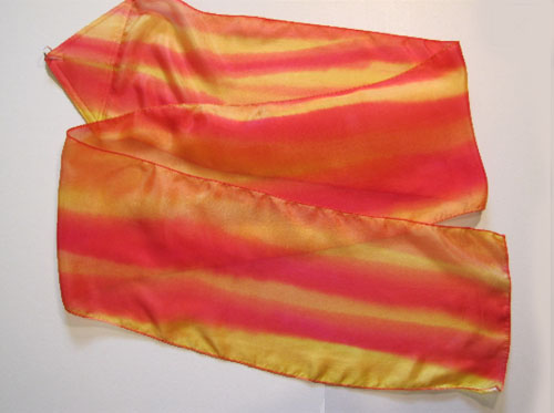 Fire ssilk Streamer for praise worship and dance