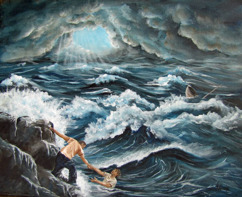 Fishers of men Prophetic Art