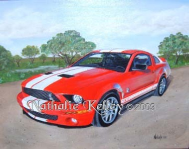 Steve's Cobra Acrylic on Canvas