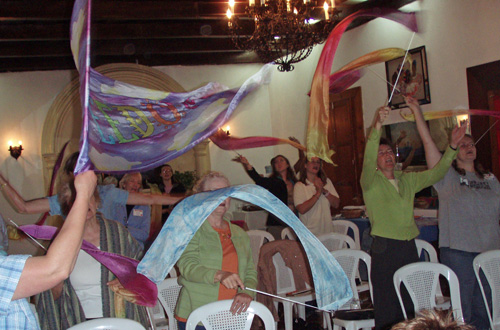 Streamers Flying in Guatemala