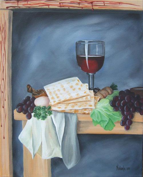 Taste and See, The Lord is Good - Prophetic Art Nathalie Kelley