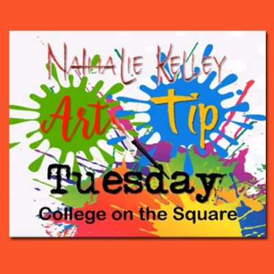 Art Tip Tuesday WTC- College on the Square