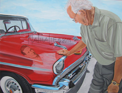 Jimmy's '57 Chevy - Commission Private Collection - Nathalie Kelley